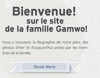 Theme design - Gamwo