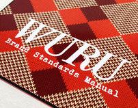 WURU brand identity
