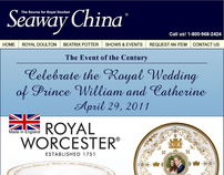 Seaway China - Celebrate the Royal Wedding