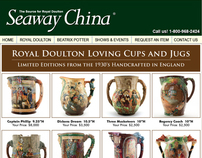 Seaway China - Royal Doulton Loving Cups and Jugs