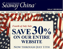 Seaway China - Fourth of July Sale