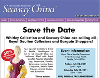 Seaway China - Save The Date, Seattle WA