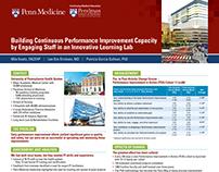 Penn Medicine IFQSH Conference Banner