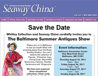Seaway China - Save The Date, Baltimore MD