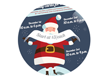 CWU Campus Poster : Santa Overseas