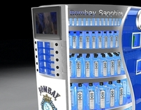 Bombay Sapphire - Point Of Sale Design