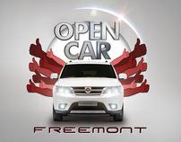 Promoção Fiat Freemont Open Car