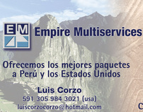 Empire Multiservice Business Cards