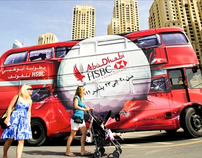 HSBC Golf Bus