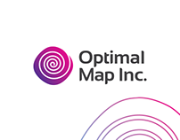 Optical Map Inc. Logo design