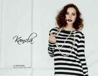 """KAMOLA """"La Parisienne"""" // Lookbook 2012/2013"""