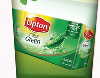 Lipton green tea campaign
