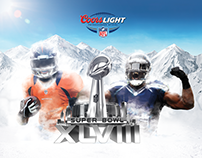 Coors Light. Super Bowl 2014