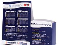 Calendario - Plegable ( Dinamica soluciones)