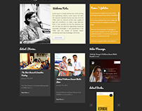 Sahar Gul - Writer's Website template