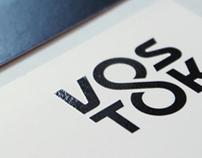 vostok8 / logotype + identity