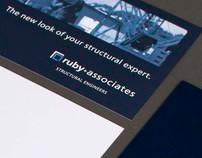 Ruby + Associates Branding Materials