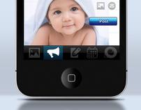 Stork's Nest ( Logo & iPhone Application )