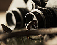 In a Giant World - Binoculars (Composite)