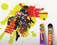 GRAPHIC DESIGN: Snowboard design