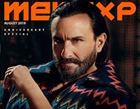 Saif Ali Khanfor Mensxp Magazine