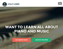 Holly Labbe Piano Studio Website.