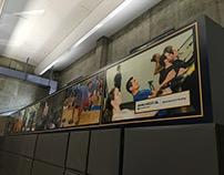 UC Berkeley | Bank of the West – Fitness Mural