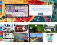 Sitio Web Dinámico para fabrica de pinturas.