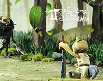 "Stop-motion Animation ""J-swordsman"""