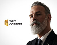 Why Copper? Corporate identity.