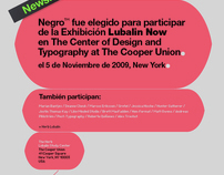 Negro™ en Lubalin Now