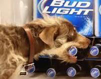 Bud Light Super Bowl Weego Rescue Dog Commercial
