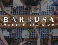 Barbusa Little Italy, Restaurant Branding & Logo