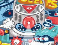 DXTR - Various Illustrations 2011