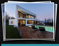 CARDENYES - JUVE ARQUITECTES // UI Website Design