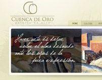 CUENCA DE ORO // UI Website Design