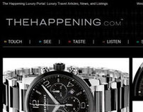 THE HAPPENING  // UI Website Design
