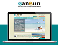 CANCUN TRAVEL // UI Website Design