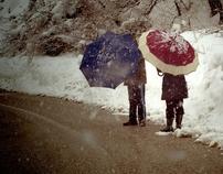 Snow in Capitanata