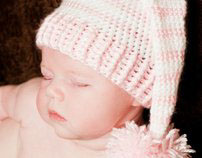 Crochet Girly Hat Collection:    By Mrs. V's Crochet