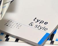 type & style