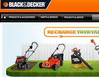 Black & Decker, Recharge Your Yard, 2012
