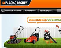 Black & Decker, Recharge Your Yard, 2012