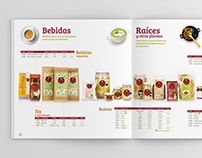 Organic food catalogue