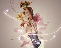 derrière chaque femme une fleur