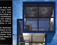 WEB DESIGN: Tadao Ando