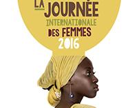 Poster Journeé Internationale des Femmes, Congo