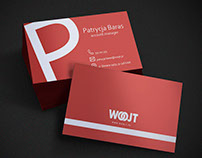 Business cards design for advertising agency