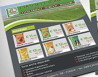 """Flyer farmacia agricola """"Colangelo"""""""