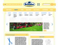 Bricofer - web design proposal